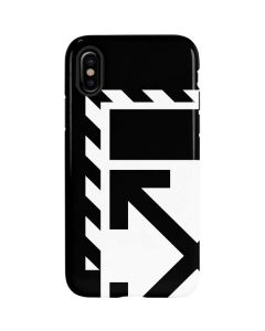 Black and White Geometric Shapes iPhone XS Max Pro Case