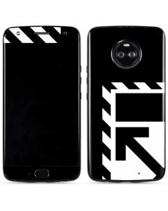 Black and White Geometric Shapes Moto X4 Skin