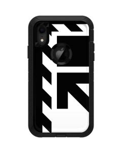 Black and White Geometric Shapes Otterbox Defender iPhone Skin