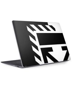 Black and White Geometric Shapes Surface Laptop 2 Skin