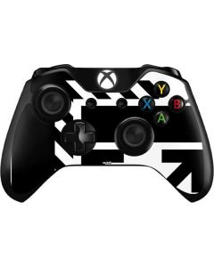 Black and White Geometric Shapes Xbox One Controller Skin