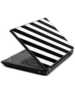 Black and White Geometric Stripes Lenovo T420 Skin