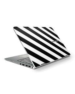 Black and White Geometric Stripes HP Stream Skin
