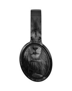 Black and White Lion Bose QuietComfort 35 II Headphones Skin