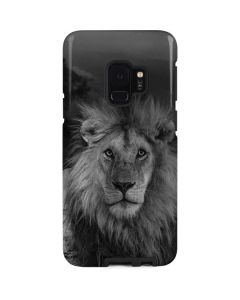 Black and White Lion Galaxy S9 Pro Case