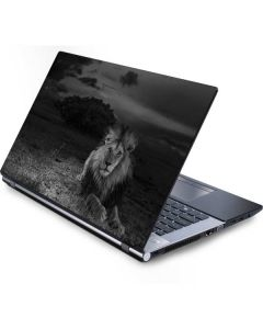 Black and White Lion Generic Laptop Skin