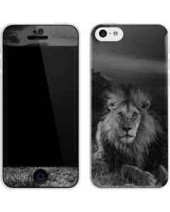 Black and White Lion iPhone 5c Skin