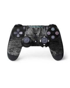 Black and White Lion PS4 Pro/Slim Controller Skin
