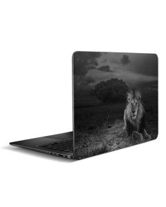 Black and White Lion Zenbook UX305FA 13.3in Skin