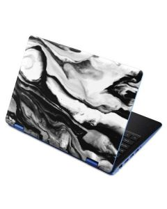 Black and White Marble Ink Aspire R11 11.6in Skin