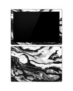 Black and White Marble Ink Google Pixel Slate Skin