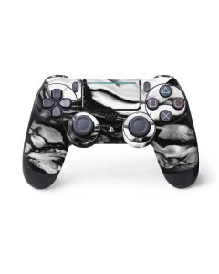 Black and White Marble Ink PS4 Pro/Slim Controller Skin
