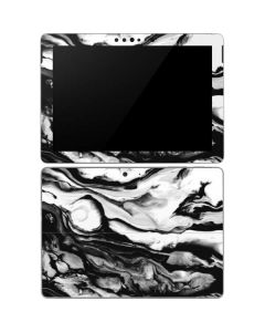 Black and White Marble Ink Surface Go Skin
