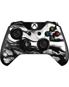 Black and White Marble Ink Xbox One Controller Skin