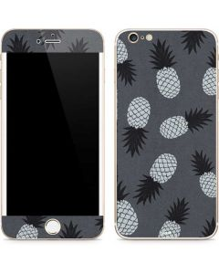 Black and White Pineapples iPhone 6/6s Plus Skin