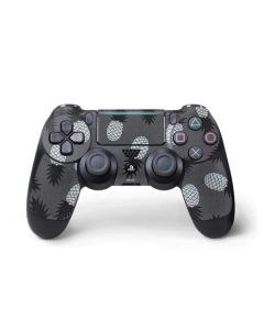 Black and White Pineapples PS4 Pro/Slim Controller Skin