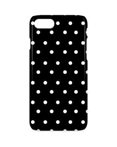 Black and White Polka Dots iPhone 8 Lite Case
