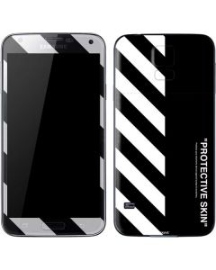 Black and White Stripes Galaxy S5 Skin