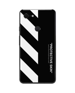 Black and White Stripes Google Pixel 3 XL Skin