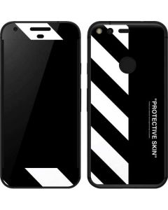 Black and White Stripes Google Pixel Skin