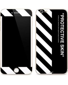 Black and White Stripes iPhone 6/6s Plus Skin