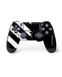 Black and White Stripes PS4 Pro/Slim Controller Skin