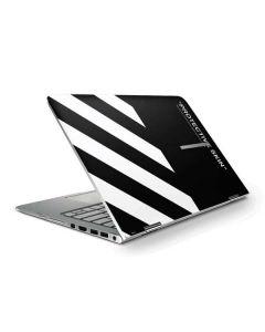 Black and White Stripes HP Stream Skin