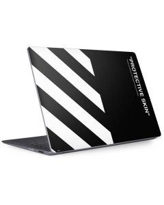 Black and White Stripes Surface Laptop 2 Skin