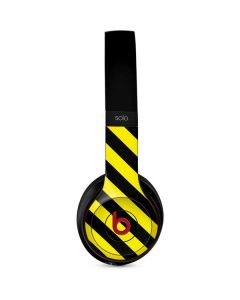 Black and Yellow Stripes Beats Solo 3 Wireless Skin