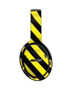 Black and Yellow Stripes Bose QuietComfort 35 Headphones Skin