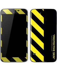 Black and Yellow Stripes Galaxy S5 Skin