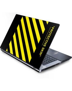 Black and Yellow Stripes Generic Laptop Skin