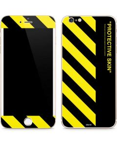 Black and Yellow Stripes iPhone 6/6s Plus Skin