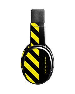 Black and Yellow Stripes Skullcandy Crusher Wireless Skin