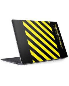Black and Yellow Stripes Surface Laptop 2 Skin
