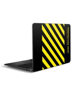 Black and Yellow Stripes Zenbook UX305FA 13.3in Skin
