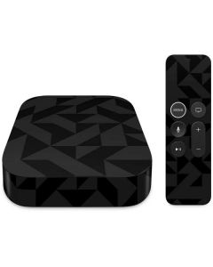 Black Apple TV Skin