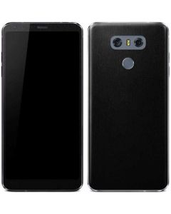 Black Brushed Steel Texture LG G6 Skin