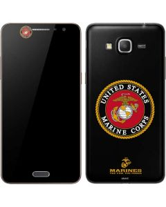 Black Full US Marine Corps Galaxy Grand Prime Skin