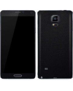 Black Hex Galaxy Note 4 Skin