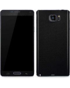 Black Hex Galaxy Note5 Skin