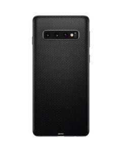 Black Hex Galaxy S10 Skin