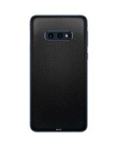 Black Hex Galaxy S10e Skin