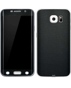 Black Hex Galaxy S6 Edge Skin