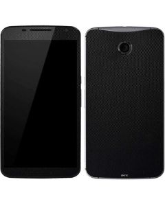 Black Hex Google Nexus 6 Skin