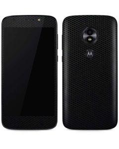 Black Hex Moto E5 Play Skin