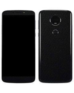 Black Hex Moto E5 Plus Skin