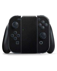 Black Hex Nintendo Switch Joy Con Controller Skin