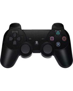 Black Hex PS3 Dual Shock wireless controller Skin