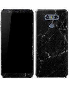Black Marble LG G6 Skin